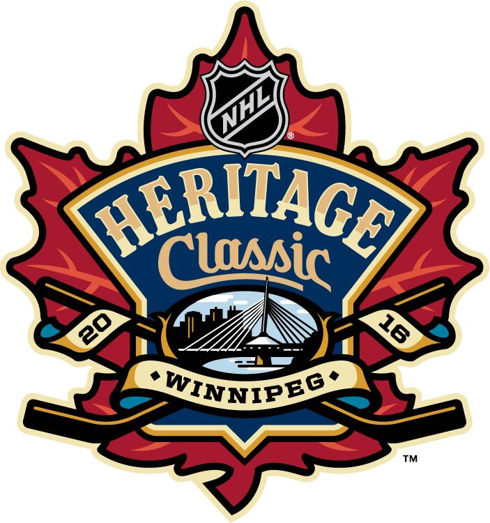 Nhl Heritage Classic Primary Logo National Hockey League Nhl