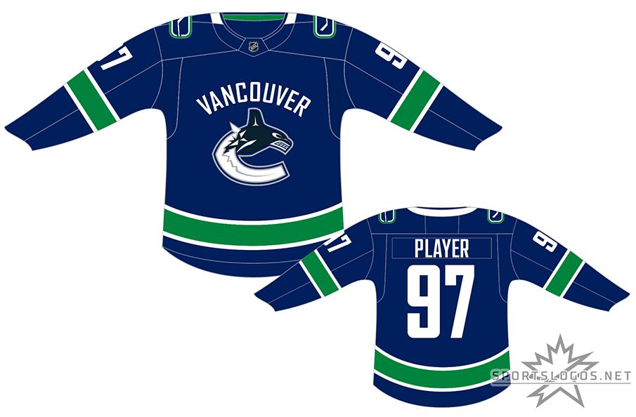 Vancouver Canucks Dark Uniform - National Hockey League (NHL ... 510d60cb8