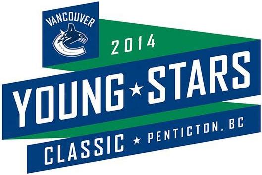Vancouver Canucks Logo Event Logo (2014/15) - 2014 Young Stars Calssic logo SportsLogos.Net