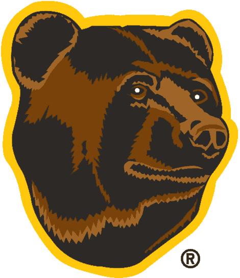 Boston Bruins Logo Alternate Logo (1995/96-2006/07) - The head of a Brown Bear SportsLogos.Net