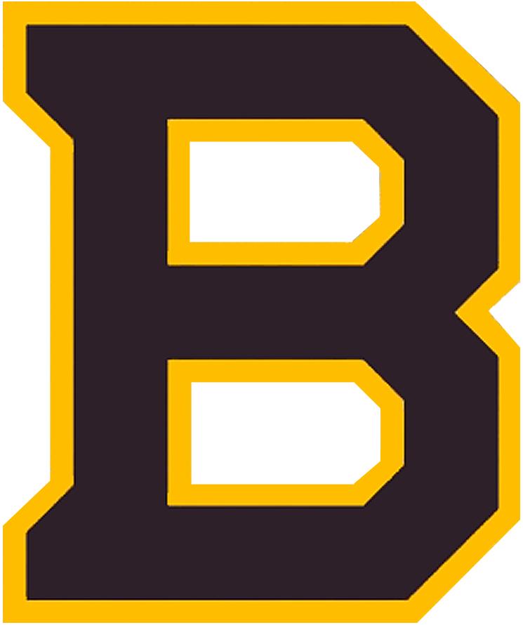Boston Bruins Logo Special Event Logo (2018/19) - Boston Bruins 2019 Winter Classic Logo, based off of Bruins logos of the 1930s SportsLogos.Net