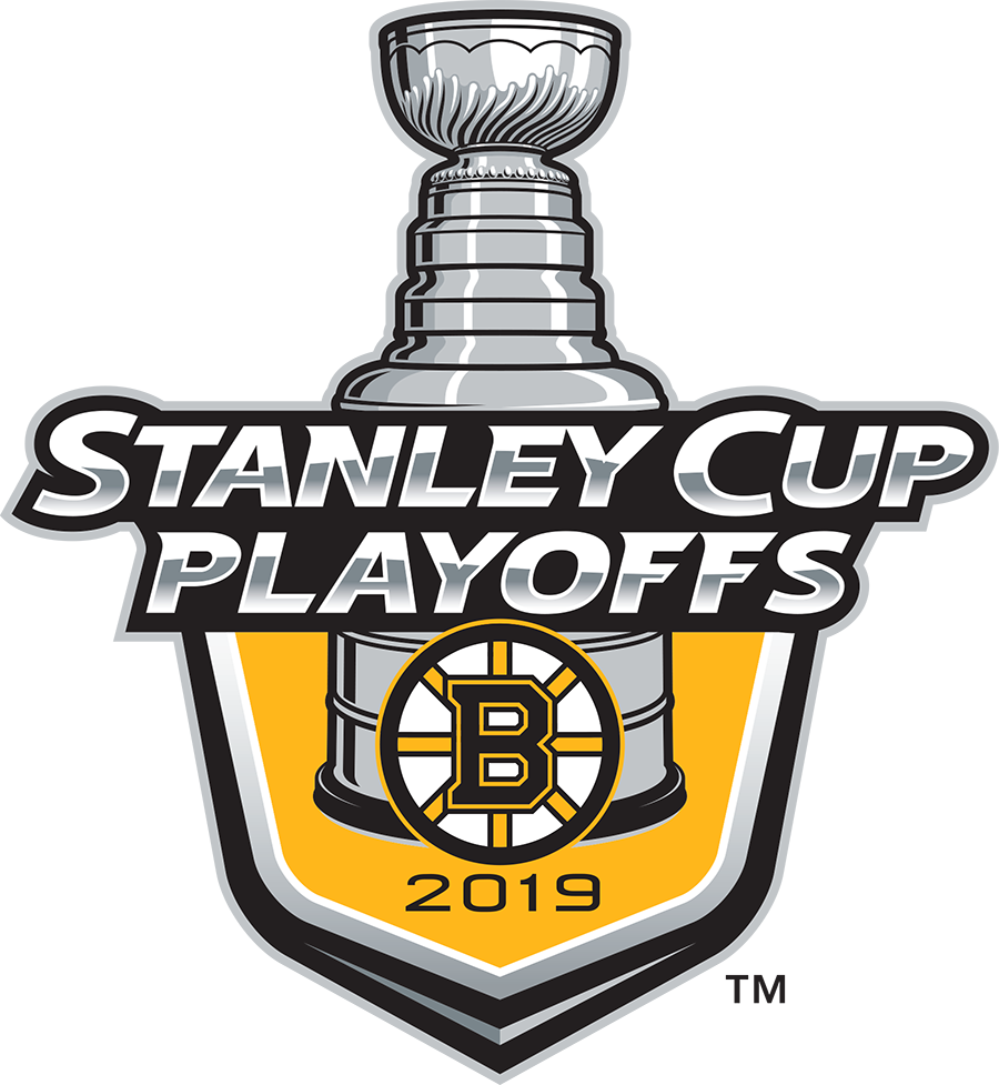 Boston Bruins Logo Event Logo (2018/19) - Boston Bruins 2019 Stanley Cup Playoffs Logo SportsLogos.Net