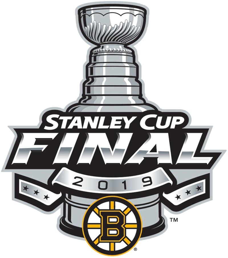Boston Bruins Logo Event Logo (2018/19) - Boston Bruins 2019 Stanley Cup Finals Logo SportsLogos.Net