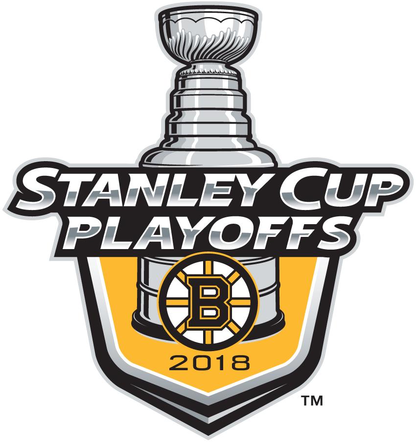 Boston Bruins Logo Event Logo (2017/18) - Boston Bruins 2018 Stanley Cup Playoffs Logo SportsLogos.Net