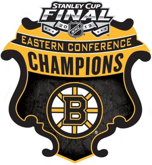 Boston Bruins Logo Champion Logo (2012/13) - Boston Bruins 2013 Eastern Conference Champions logo SportsLogos.Net