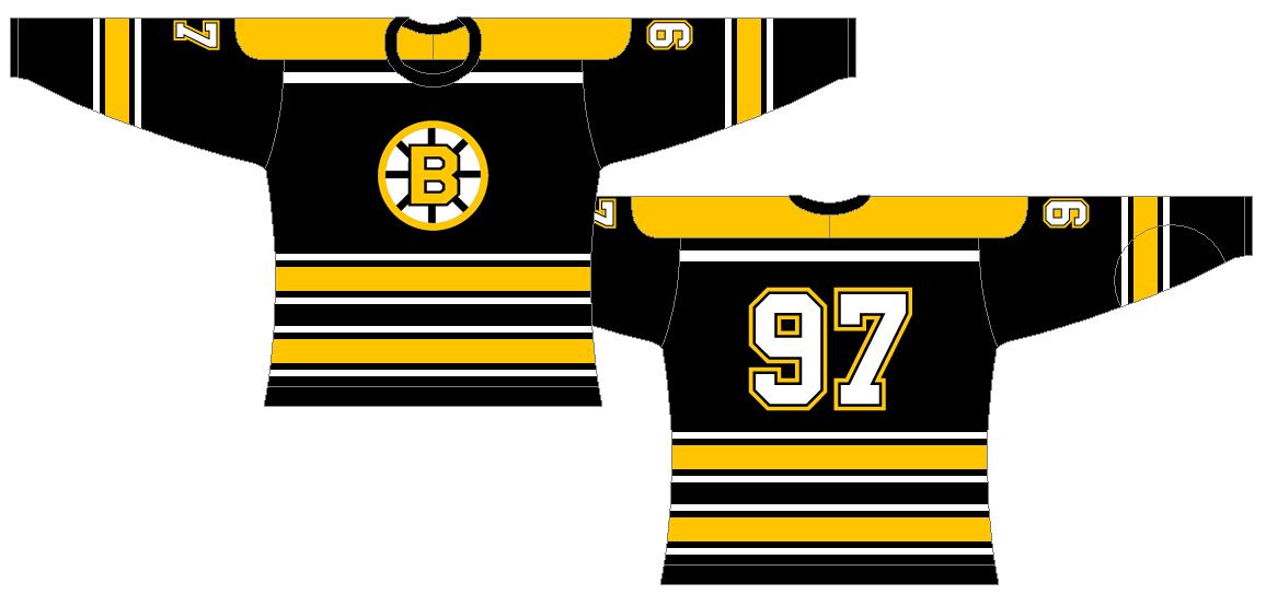 Boston Bruins Uniform Alternate Uniform (1959/60-1964/65) -  SportsLogos.Net