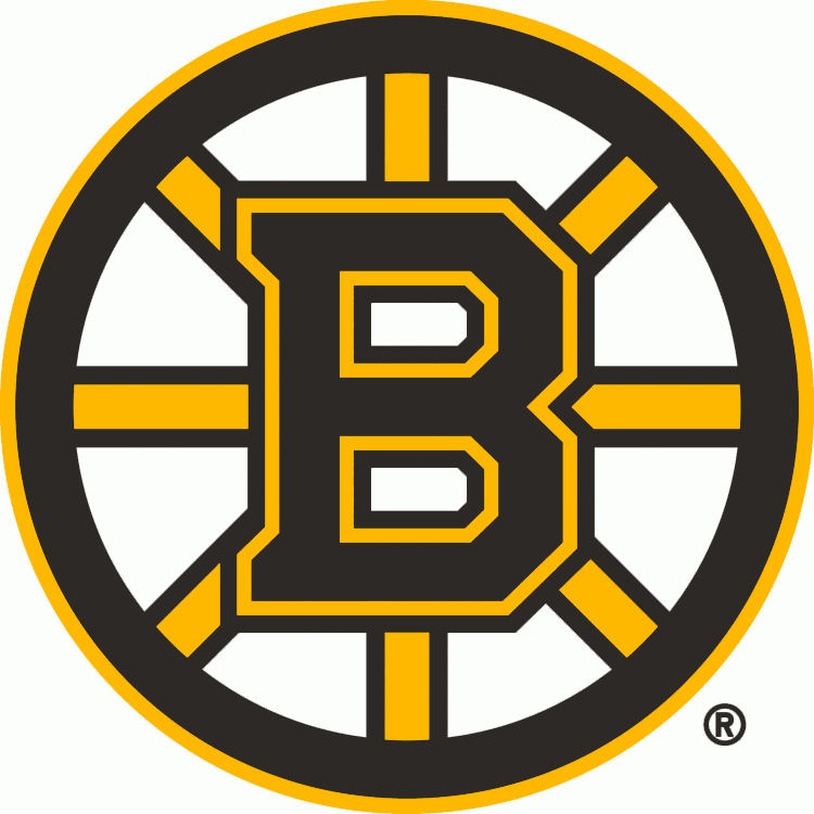 Boston Bruins Logo Primary Logo (2007/08-Pres) - For the 2007-08 season the Boston Bruins updated their famous spoked B logo once again, the third time it had been altered since it was first introduced in 1949. Still showing a black