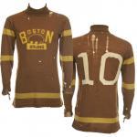 Boston Bruins (1925) Boston Bruins inaugural season 1924/25 jersey, worn by George Redding