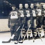 Boston Bruins (1927) Boston Bruins players lineup wearing the 1926-27 uniform