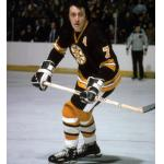 Boston Bruins (1975) Phil Esposito in the Boston Bruins road uniform during 1974-75 season