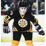 Boston Bruins (1980) Ray Bourque wearing Boston Bruins road uniform during 1979-80 season