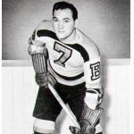Boston Bruins (1943) Jack Schmidt wearing Boston Bruins uniform during 1942-43 season