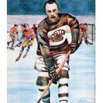 Boston Bruins (1928) Eddie Shore wearing Boston Bruins uniform during 1927-28 season