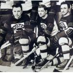 Boston Bruins (1930) Members of the Boston Bruins pose for a team photo during 1929-30 season