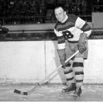 Boston Bruins (1933) Eddie Shore of the Boston Bruins during the 1932-33 season