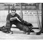 Boston Bruins (1930) Tiny Thompson of the Boston Bruins in goal during 1929-30 season