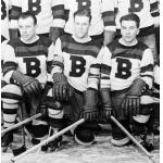 Boston Bruins (1933) Portion of a Boston Bruins team photo from 1932-33 season