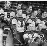 Boston Bruins (1935) A Boston Bruins team photo from 1934-35