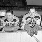 Boston Bruins (1947) Boston Bruins players pose for a photo during the 1946-47 season