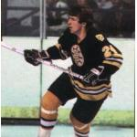 Boston Bruins (1984) Terry OReilly wearing the Boston Bruins black uniform during the 1983-84 season