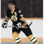 Boston Bruins (1988) Ray Bourque wearing the Boston Bruins black uniform during the 1987-88 season