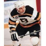 Boston Bruins (1992) Ken Hodge wearing Boston Bruins NHL 75th anniversary throwback jersey during 1991-92 season