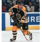 Boston Bruins (2001) Paul Coffey wearing Boston Bruins road black uniform during 2000-01 season