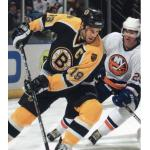 Boston Bruins (2003) Joe Thornton wearing Boston Bruins road black uniform during 2002-03 season
