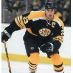 Boston Bruins (2007) Zedno Chara wearing Boston Bruins alternate uniform during 2006-07 season, this was the only season the Bruins used this jersey as an alternate