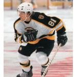 Boston Bruins (2007) Phil Kessel wearing the Boston Bruins road white uniform during the 2006-07 season