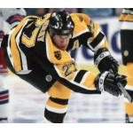 Boston Bruins (2007) Glen Murray wearing the Boston Bruins home black uniform during the 2006-07 season