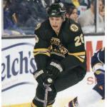 Boston Bruins (2009) Blake Wheeler in the Boston Bruins alternate black uniform during 2008-09 season