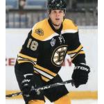 Boston Bruins (2011) Nathan Horton in the Boston Bruins home black uniform with 2010 NHL Premiere patch during the 2010-11 pre-season