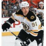 Boston Bruins (2010) Marc Savard in the Boston Bruins road white uniform during the 2009-10 season