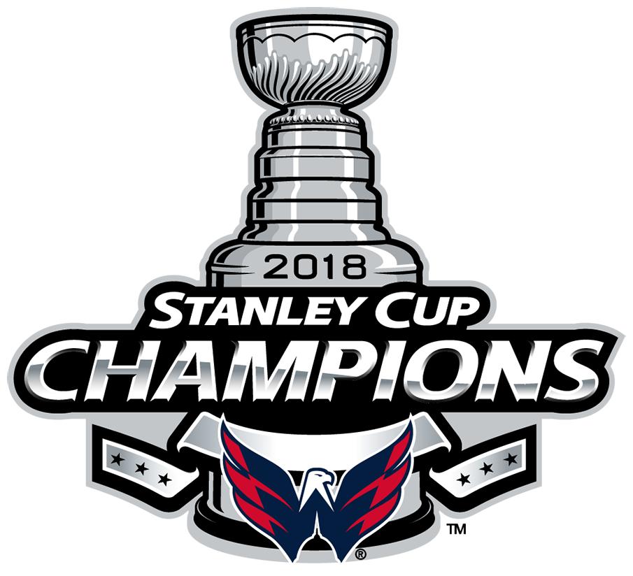 Washington Capitals Champion Logo National Hockey League Nhl
