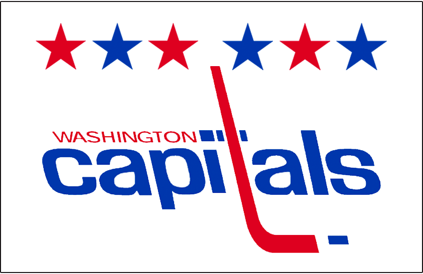 Washington Capitals Logo Jersey Logo (2011/12-2014/15) - Worn on Washington Capitals alternate road white jersey starting in 2011-12, replaced with red version for 2015-16 SportsLogos.Net