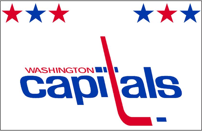 Washington Capitals Logo Jersey Logo (1974/75-1979/80) - Worn on Washington Capitals home white jersey from 1974-75 inaugural season until 1979-80 SportsLogos.Net