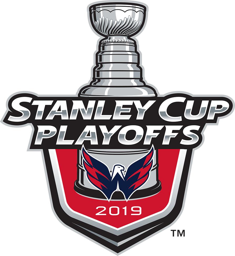 Washington Capitals Logo Event Logo (2018/19) - Washington Capitals 2019 Stanley Cup Playoffs Logo SportsLogos.Net