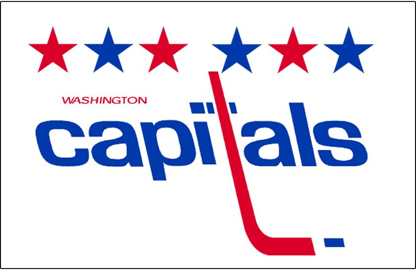Washington Capitals Logo Jersey Logo (1985/86-1994/95) - Worn on Washington Capitals home white jersey from 1985-86 until 1994-95 SportsLogos.Net