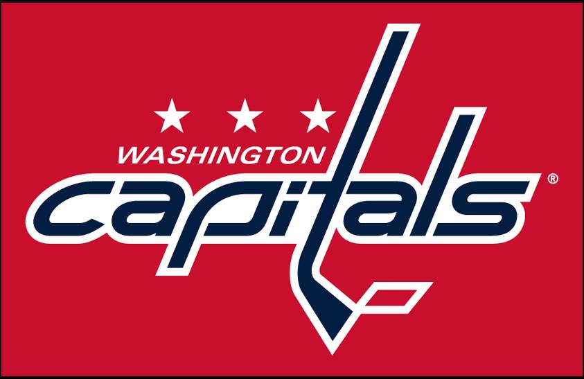 Washington Capitals Primary Dark Logo National Hockey