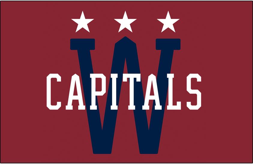 Washington Capitals Special Event Logo National Hockey