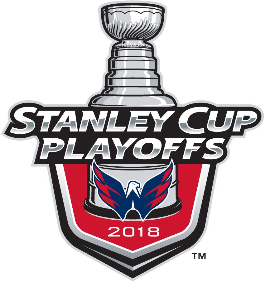 Washington Capitals Logo Event Logo (2017/18) - Washington Capitals 2018 Stanley Cup Playoffs Logo SportsLogos.Net