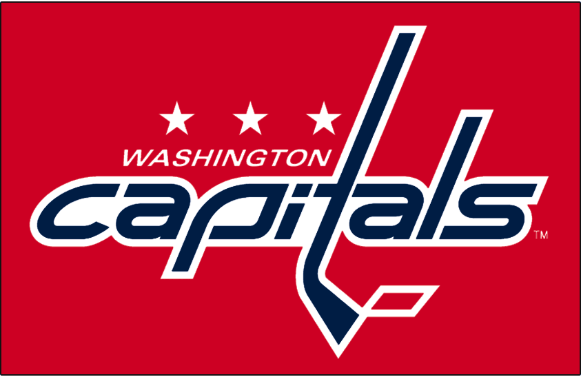 Washington Capitals Logo Jersey Logo (2007/08-Pres) - Worn on Washington Capitals home red jersey starting in 2007-08 season SportsLogos.Net