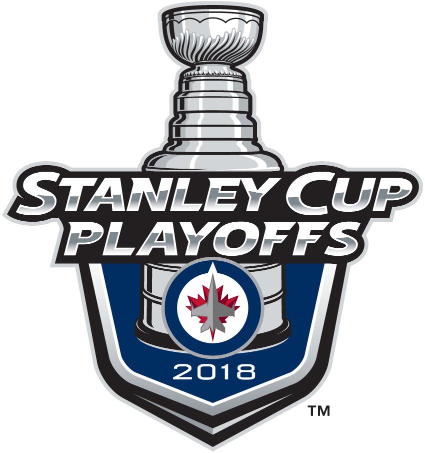 Winnipeg Jets Logo Event Logo (2017/18) - Winnipeg Jets 2018 Stanley Cup Playoffs Logo SportsLogos.Net