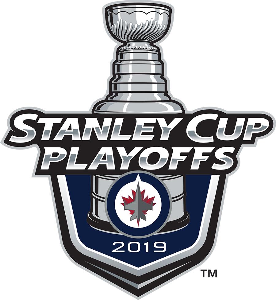 Winnipeg Jets Logo Event Logo (2018/19) - Winnipeg Jets 2019 Stanley Cup Playoffs Logo SportsLogos.Net