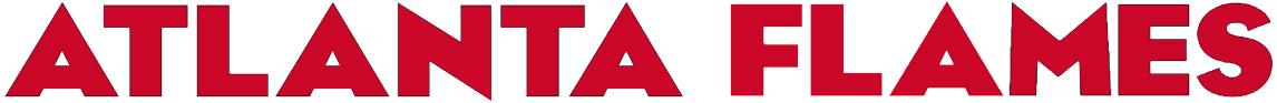 Atlanta Flames Logo Wordmark Logo (1972/73-1979/80) - Script used by the Atlanta Flames.  SportsLogos.Net