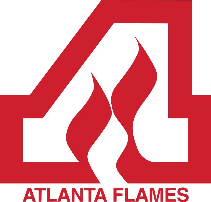Atlanta Flames Logo Alternate Logo (1972/73-1979/80) -  SportsLogos.Net