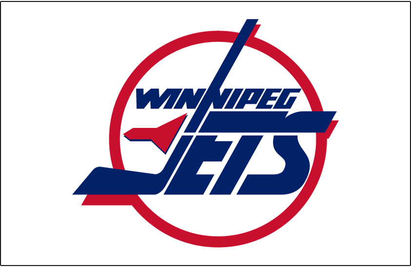 Winnipeg Jets Logo Jersey Logo (1990/91-1995/96) - Home jersey crest SportsLogos.Net