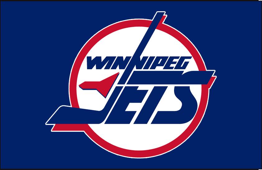 Winnipeg Jets Logo Jersey Logo (1990/91-1995/96) - Road jersey crest SportsLogos.Net