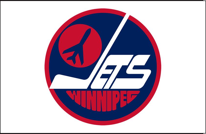 Winnipeg Jets Logo Jersey Logo (1979/80-1989/90) - Home jersey crest SportsLogos.Net